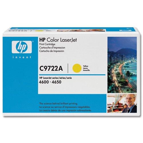 HP LaserJet cartucho inteligente amarillo (C9722A)