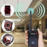 ✪Professionelles Funkerkennungsgerät, hohe Empfindlichkeit, einstellbare Schwelle, großer Frequenzerkennungsbereich. Einfach zu bedienen (nur Schalter + Empfindlichkeitsknopf) ✪Es ist in der Lage, die Signalquelle durch seine automatische Erkennungsf...