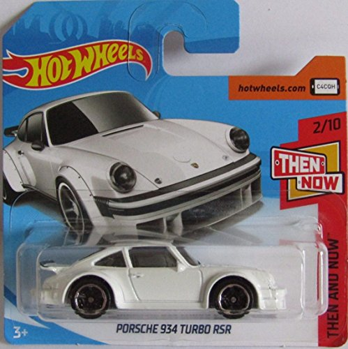 Hot Wheels 2018 Porsche 934 Turbo RSR White 2/10 Then and Now 44/365 (Short Card)