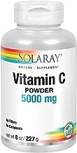 Vitamin C Crystalline Powder Solaray 8 oz Powder