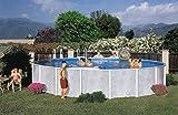 Interline 50000034 Diana - Piscina Redonda (diámetro 3,60 m, Profundidad 1,32 m, Juego sin Filtro de Arena)