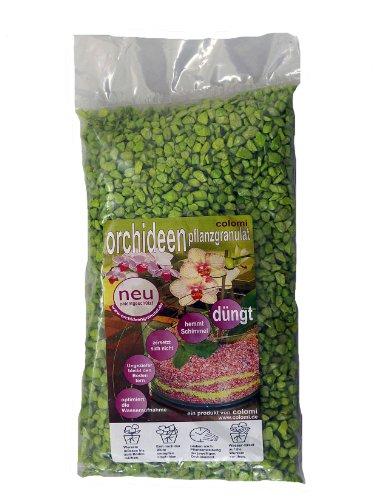 Orchideengranulat 1 l fein apfelgrün Colomi