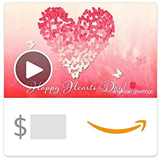 Amazon eGift Card - Butterfly Heart Valentine (Animated) [American Greetings] (B079J9MQJ1) | Amazon price tracker / tracking, Amazon price history charts, Amazon price watches, Amazon price drop alerts