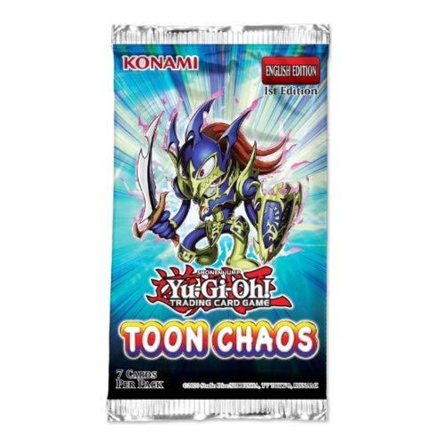 yu-gi-oh Toon Chaos Booster Pack Edición ilimitada. (Konami TOCHRU)