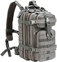 WolfWarriorX Small 30L Tactical Backpack Military Assault Pack Rucksack Molle Bag (Gray)
