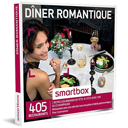 Smartbox coffret cadeau Dîner romantique