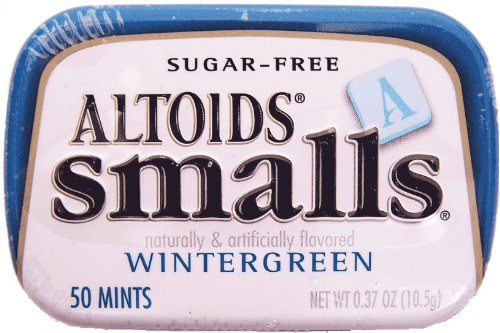 Altoids Mints  Smalls Wintergreen Sugar Free 37 Oz Tins  9 Pack