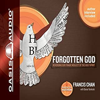 Forgotten God audiobook cover art