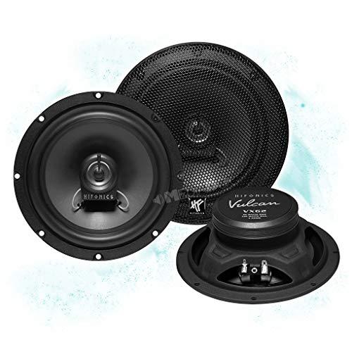 Hifonics VX62 Front/Heck 16,5cm/165mm 2-Wege Koax Auto Lautsprecher/Boxen/Speaker kompatibel für SEAT