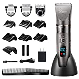 Best Hair Clippers For Fades - Hatteker Mens Beard Trimmer Cordless Hair Trimmer Hair Review