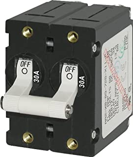 Blue Sea Systems A-Series Toggle Double Pole Circuit Breakers