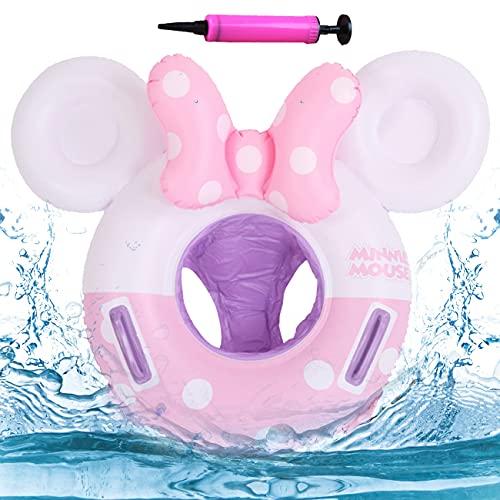 Baby Schwimmring - Miotlsy Rosa Elefantenschwimmring Baby Schwimmhilfe mit Schwimmsitz PVC Swim Ring, Float Kinder Schwimmring,Aufblasbare Schwimmen,Kinder Schwimmreifen Spielzeug