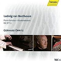 Piano Sonatas 16 17 18 by LUDWIG VAN BEETHOVEN (2007-04-10)