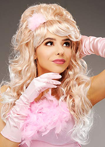Magic Box Damen Austin Powers Style Blonde Fembot Perücke