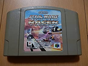 N64 Star Wars Racer Episode 1 Japan Import Nintendo 64 Game Lucas Darth Vader