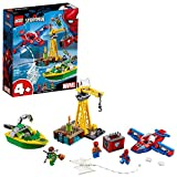 LEGO Marvel Super Heroes - Spider-Man : Docteur Octopus et le vol du diamant  - 76134 - Jeu de construction