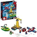 LEGO 76134 Super Heroes Spider-Man: Robo de Diamantes de Doc Ock (Descontinuado por Fabricante)