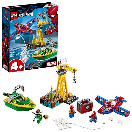 LEGO Super Heroes Spider-Man: Robo de Diamantes de Doc Ock, juguete de construcción, incluye minifiguras (76134)