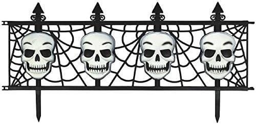 Skull Garden Fence