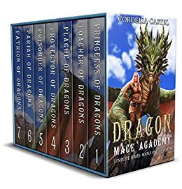 Dragon Mage Academy The Complete Series: Books 1-7 Box Set by [Cordelia Castel]