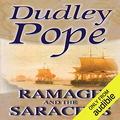 Ramage and the Saracens audiobook cover art
