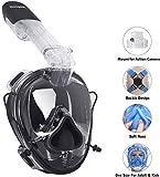 Unigear Schnorchelmaske Vollmaske, Tauchmaske Vollgesichtsmaske für Kinder ab 12 Jahren und Damen|...