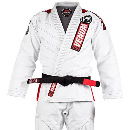 Venum Elite 2.0 BJJ, Kimono para Hombre, Blanco, A2