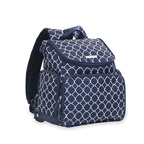 Bananafish Madison Electric Breast Pump Backpack - Cute Portable Carrying Bag Great for Travel or Storage - Accessory and Cooler Pockets - Fits Most Major Brands Including Medela and Spectra