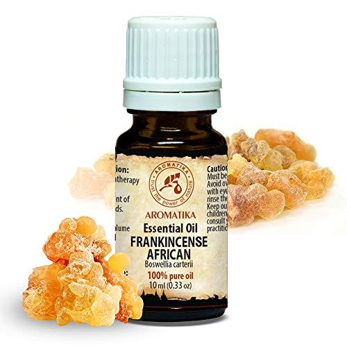 Olio Essenziale di Incenso 10ml - Boswellia Carterii - Africano - 100%...