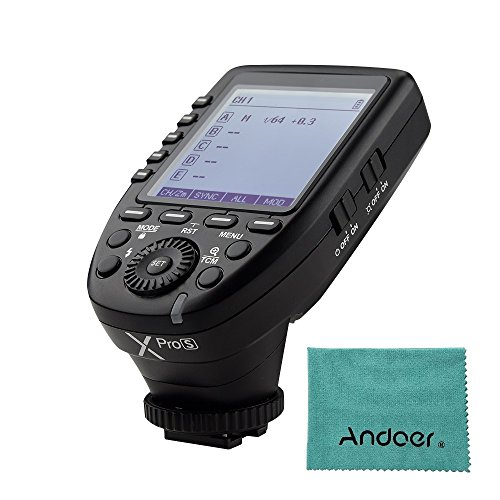Godox XproS TTL Transmisor de disparador inalámbrico compatible con TTL Autoflash 1...
