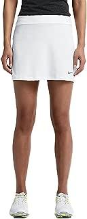 Womens Dri-Fit Short Fairway Drive Golf Skort, White, X-Large, 640435 100