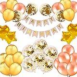 誕生日 飾り付け セット バルーン 風船 ゴールド HAPPY BIRTHDAY バースデー パーティー デコレーション セット きらきら風船 パーティー お祝い FU-681