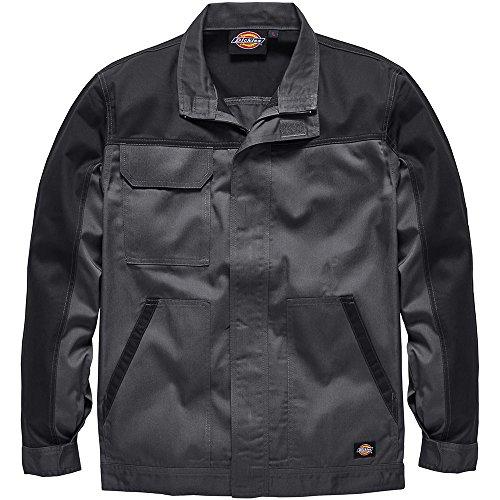 Dickies ED24/7JK, Veste de Travail Homme, Gris (Gris/Noir), X-Large (Taille Fabricant: XL)