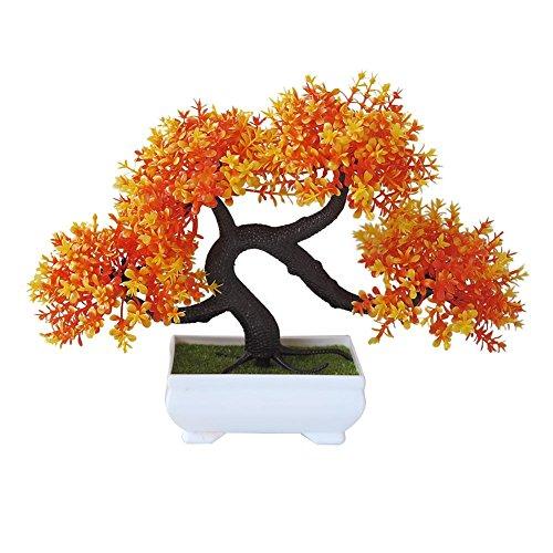 Mini kit d'intérieur d'arbre artificiel de bonsaï, décoration d'usine en plastique, ne disparaît jamais, arbre de bonsaï, décorations pour maison pour salon et le bureauplantes jardin artificielles