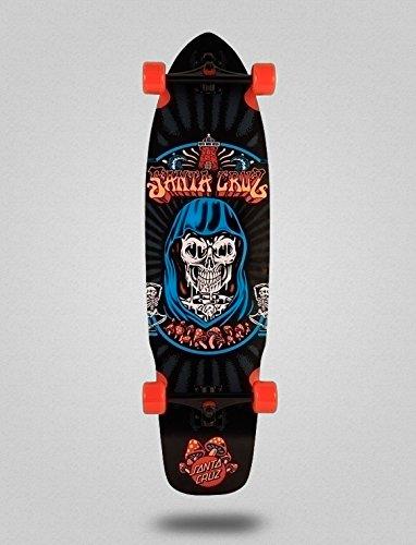 Santa Cruz Skate Longboard Cruiser Complete Flex Tech Trippin Cruzer 37,78 X