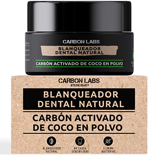 Blanqueador Tiras  marca CARBON LABS INTENSE BEAUTY