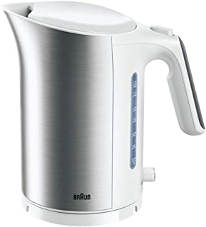 Braun 3000W Electric Kettle, White, 1.7 Liters, WK 5110 WH