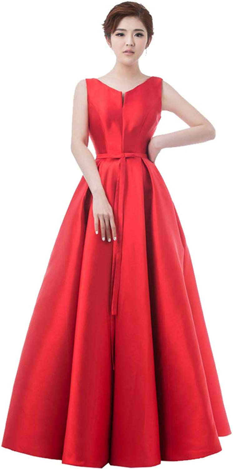 Elegant Evening Dresses VOpening Back Prom Formal Party Dress Style Dress