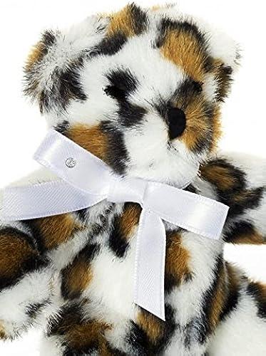 Brillibrum Teddyb Baby Leo Stofftier Teddy Kuscheltier Weiß Brilliant Weißold OhrStücker Geburtstag Flyer Geschenke Geschenkidee Kinder