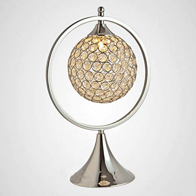 Moderne Nachttisch Kristall Tischlampe Wohnzimmer Beleuchtung