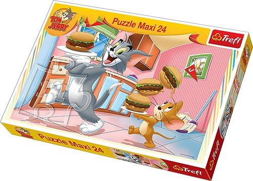 TREFL   Rompecabezas Tom y Jerry, 24 Piezas (14210)