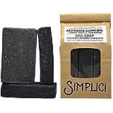 SIMPLICI Mechanic Soap with Pumice, Charcoal & Shea Butter - Heavy Duty Hand Soap