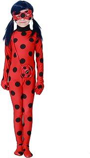 Hallowmax Disfraz Ladybug Mariquita niña Infantil para Carnaval