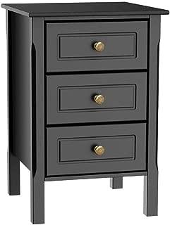 Best bedside cabinets black gloss Reviews