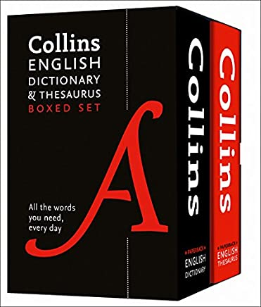 Collins English Dictionary and Thesaurus Boxed Set