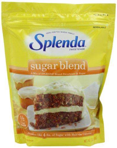 SPLENDA Sugar Blend Low Calorie Sweetener for Baking, 2 Pounds (908 Grams) Resealable Bag (Pack of 3)