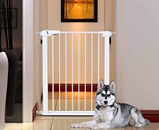 L TSA Safety Gates 96cm Heightened Child For Stairs Pet Door Bar Dog Fence Puppy Playpen Suitable For 75cm-82cm Width Baby Barrier