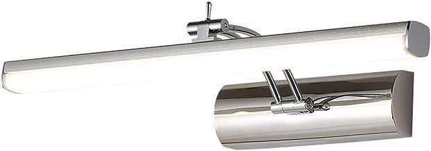 Spiegellampen, LED-spiegel-koplamp waterdicht vochtbestendig aluminium lange strepen badkamer make-up lichten verstelbare ...