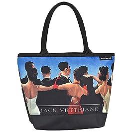 VON LILIENFELD Cabas Besace Sac Bandoulière Spacieux Sacs Portés Èpaule Cabas Décontractés Art Jack Vettriano : Les…