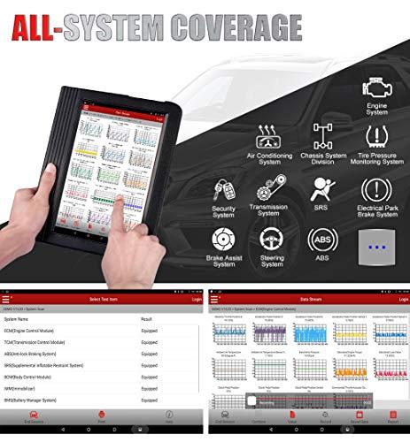 LAUNCH X431 V+ Valise Diagnostic Scanner OBD2 Multimarque Systèmes Complets,Compatible avec Android Wifi DBScarII Bluetooth,2 ans Mise à Jour Gratuite